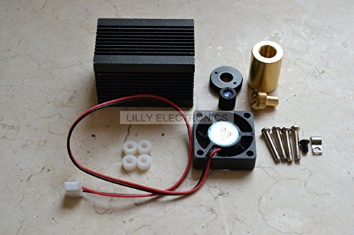 Q-BAIHE Laser Module Housing 33x33x50mm for 9.0mm To-5 Ld