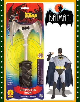 The Batman Grappling Hook Costume Accessory (Black Batman Grappling Hook)