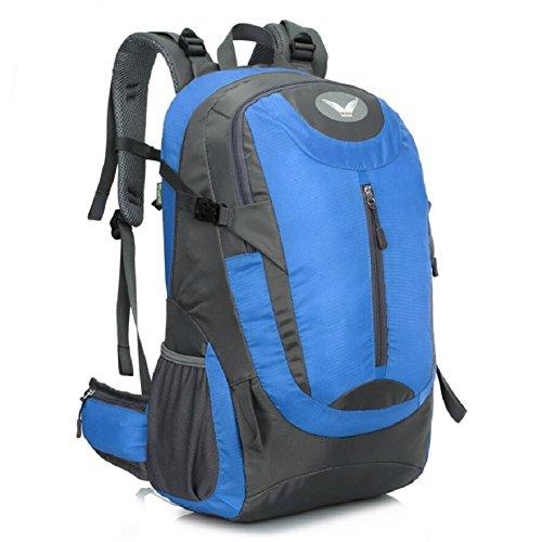 ZC&J Mochila de escalada al aire libre, los hombres y las mujeres en general de senderismo resistente al desgaste bolsa de hombro, 41 litros de gran capacidad, mochila de alta calidad,A,41L A