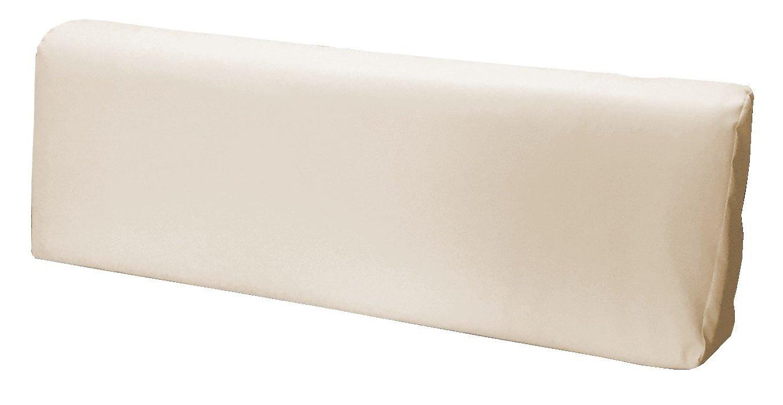 Schienale 120x39x11-19 cm Ecopelle IDROREPELLENTE BEIGE CHIARO SET CUSCINI PER DIVANI PALLET BANCALI Seduta 120x80x15 cm