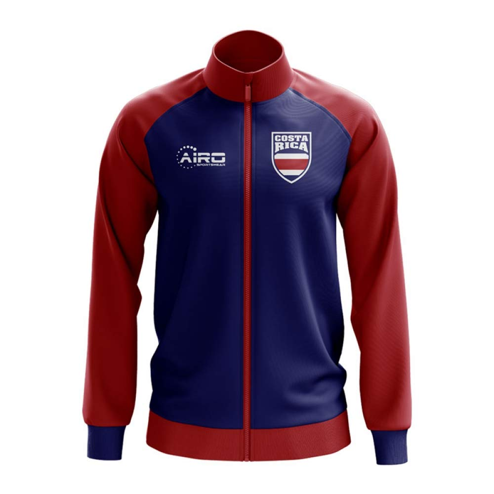 Airo Sportswear Costa Rica Concept Football Track Jacket (Blau) - Kids