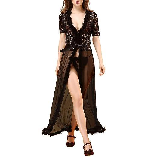 LUCA Women Sexy Bodysuit Dresses Sleepwear Nightdress One Free Size  Babydoll Black at Amazon Women s Clothing store  dbfe4857d