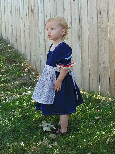 The Guild Clara Costume (Baby 2-3 T Folk dress and Apron)
