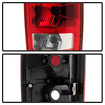 Carpart4u for Dodge Ram 1500 2002-2006 2500 3500 03-06 OEM Style rear brake tail lights lamps: Automotive