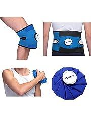 Gomma grande per il ginocchiere Gomma larga per il sollievo dal dolore rapido Riutilizzabile Terapia flessibile a freddo caldo per lesioni Spalla, coscia, ecc.