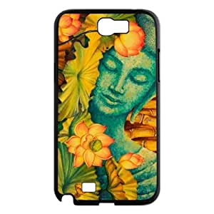 DDOUGS I Buddha Customized Cell Phone Case for Samsung Galaxy Note 2 N7100, Personalised I Buddha Case