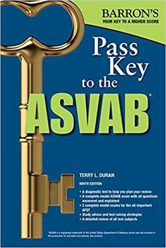 Pass Key to the ASVAB, 9th Edition (Pass Key to the ASVAB (Barron's))