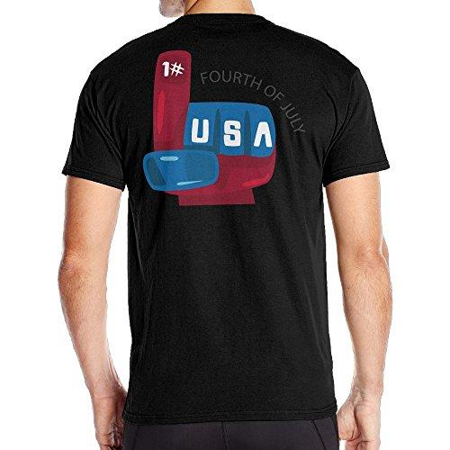 Men The Future Of The United States Cool Tshirt Black Size - State Barbara St Santa