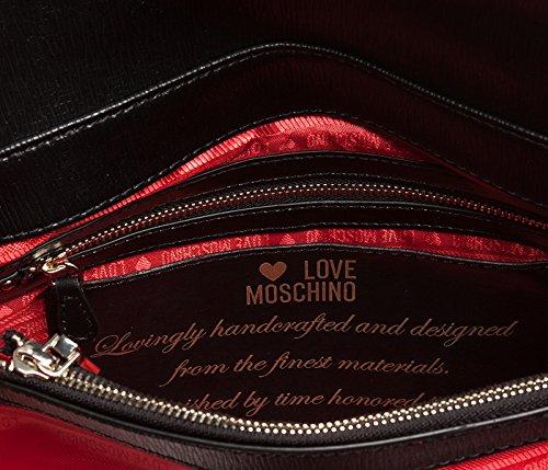 Love Moschino - Bolso al hombro para mujer negro