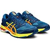 ASICS Men's Gel-Kayano 26 Running Shoes, (Mako Blue/Sour Yuzu 400) 10 UK