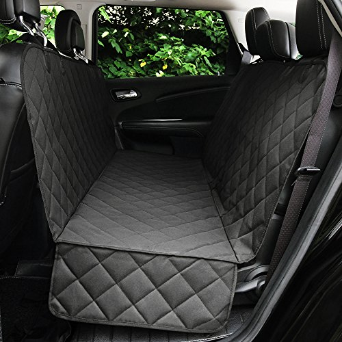 Honest Luxury Quilted Dog Car Seat Cover with Side Flap Pet Backseat Cover for Cars, Trucks, and Suv's – Waterproof & Nonslip Diamond Pattern Dog Seat Cover Review