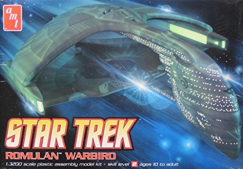 AMT 1: 3200スタートレックRomulan Warbirdプラスチックモデルキット# 753の商品画像