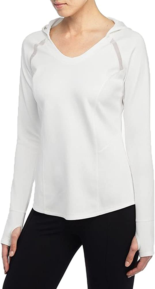 SUGAR NYDJ WOMENS CITY//SPORT HOODED ATHLETIC PULLOVER