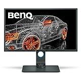 BenQ PD3200Q 32' 2K Designer Monitor, 2560x1440 2K QHD, sRGB, CAD/CAM, Animation, Darkroom, KVM, DualView