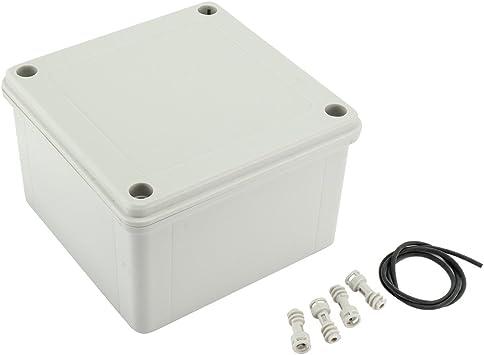 Aexit Caja de empalme de ABS Caja de empalme de ABS Caja de empalme de proyecto eléctrico universal de 5.7 x5.7 x3.54 (145mmx145mmx90mm) (e63107810f12fe8b4315b5c0bd49e1dd): Amazon.es: Bricolaje y herramientas