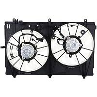 MAPM Premium OUTLANDER 14-14 RADIATOR FAN ASSEMBLY, Dual Fan