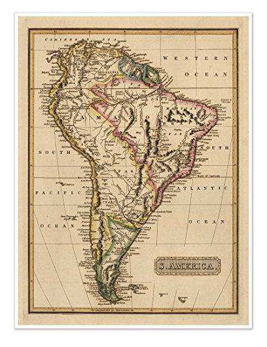 giant map of south america - 1