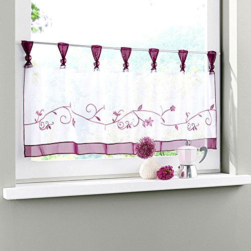 tab top kitchen curtains - 6