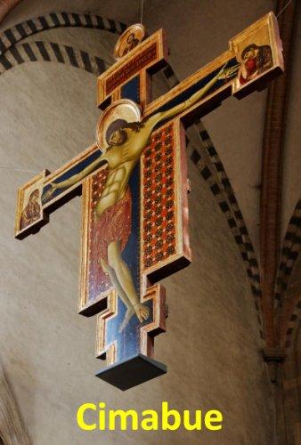 17 Color Paintings of Cimabue (Bencivieni di Pepo) - Florentine Proto Renaissance Painter (1240 - - Renaissance Painting Florentine