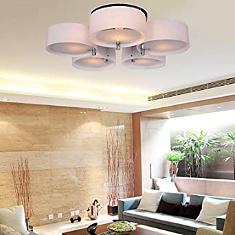 homelava lmpara de techo con luces techo luz e dimetro de cm para saln