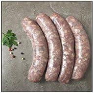 Saucisse de Sanglier (Wild Boar) - Pack of 8 (2 pound)
