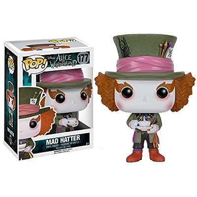 Funko POP Disney: Alice in Wonderland Action Figure - Mad Hatter: Funko Pop! Disney:: Toys & Games