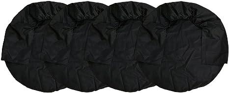 Tire Covers Set,WinnerEco 4pcs 32inch Wheel Tire Covers for Auto RV Truck Car Trailer Camper Black