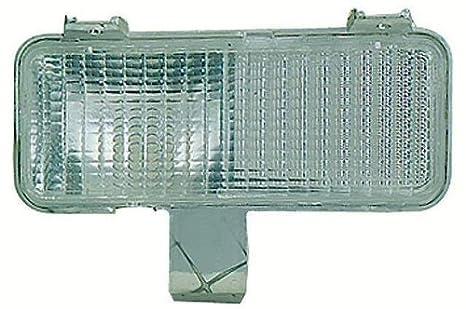 Depo 332-1604L-US Chevrolet//GMC Driver Side Replacement Parking//Signal Light Unit 02-00-332-1604L-US