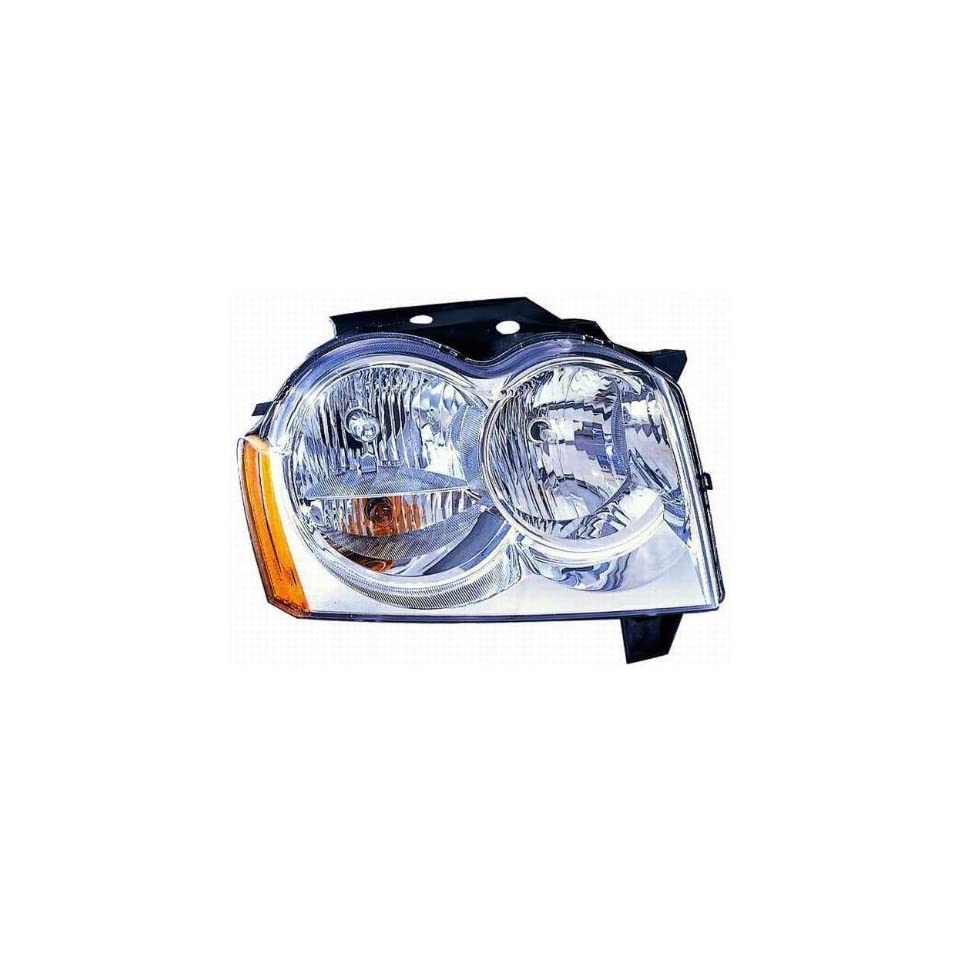 Depo 333 1172R AS Jeep Grand Cherokee Passenger Side Replacement Headlight Assembly