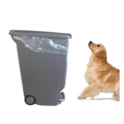 Genial Locking Trash Can Dog Proof 10 Gallon Kitchen Rubbish Step Tall Slim Lock  Lid Garage