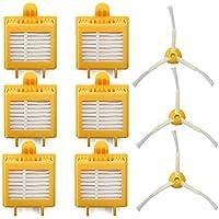 ANBOO for iRobot Roomba 700 720 750 760 765 770 Brush Vacuum Filter Replacement Yellow 9pcs