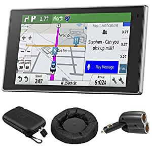 Garmin 010-01531-00 DriveLuxe 50LMTHD GPS Navigator with GPS Bundle
