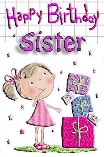 Feliz cumpleaños hermana: Amazon.es: Oficina y papelería