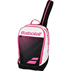 The Babolat Club Classic Tennis Backpack is now available in enhanced blue and pink As far as functionality is concerned, it is designed to carry everything you need on the court. The largest compartment conveniently holds your tennis racquet...