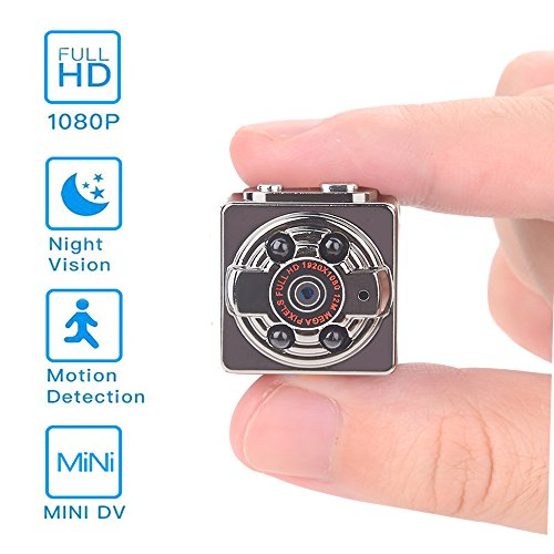 Hidden Mini Camera,1080P/720P Pocket Security Spy Camera Nig