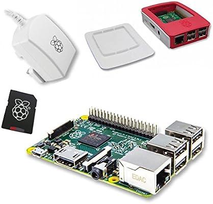 Raspberry Pi 2 Official 8 GB Desktop Starter Kit: Amazon.es ...