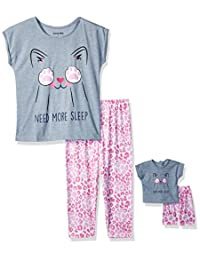 Komar Kids Girls Big Girls Need More Sleep Me and My Dream Doll Set
