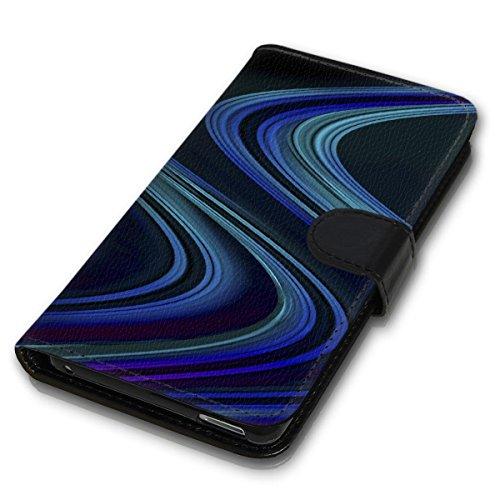 Wallet Book Style Flip Handy Tasche Case Schutz Hülle Schale Motiv Etui für Apple iPhone 6 Plus / 6S Plus - Design Flip MV192