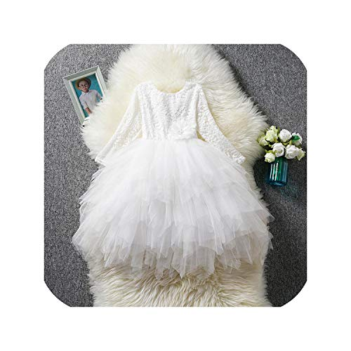 Children Girls Embroidery Clothing Wedding Evening Flower Girl Dress Princess Party,as photo7,7 -