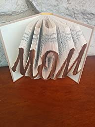 MOM Folded Book Sculpture