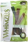 Whimzees Natural Grain Free Dental Dog Treats, Large Stix, Bag 7