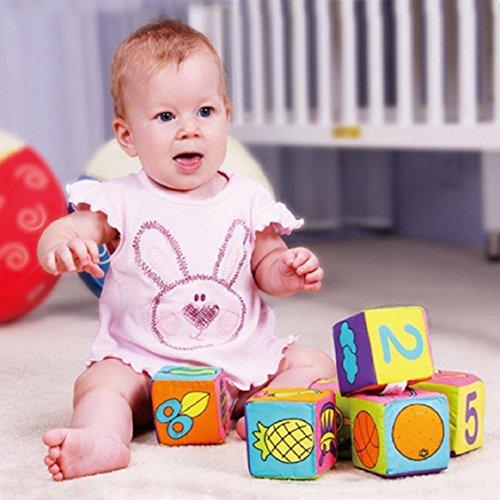 6PCS/Set Soft Cloth Books Infant Educational - 2