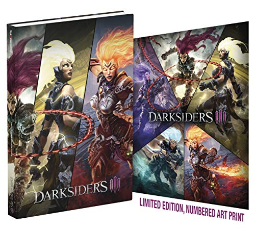 Darksiders III: Official Collector's Edition Guide (Best Fantasy Rpg Xbox One)
