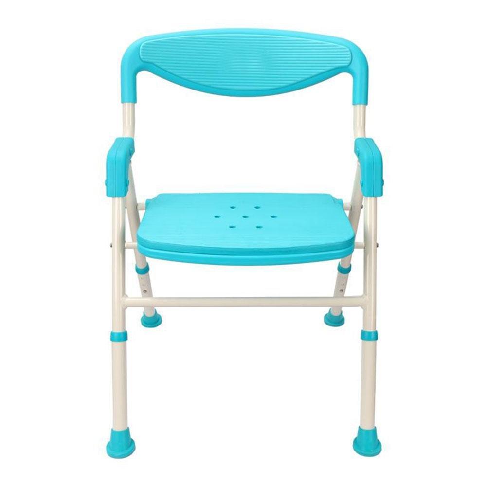 Amazon.com: TSAR003 Aluminum Alloy Bathroom Shower Chair, Foldable ...