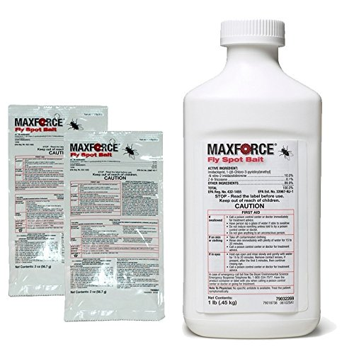 Maxforce Fly Spot Bait - bottle (16 oz.) (Maxforce Granular Fly Bait)