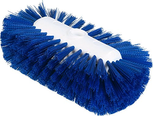 Carlisle 4004314 Sparta Spectrum Flare Head Tank and Kettle Brush, Blue Polyester Bristles, 9-1/2 x 5-1/2'' W (Case of 12) by Carlisle