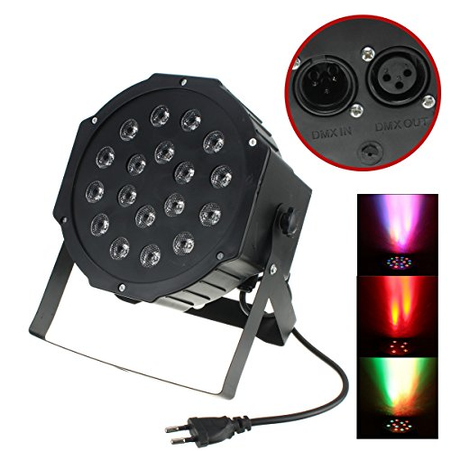Multicolor RGB Novelty Lighting Decoration 54W LED Environment Enhancement Colorful Lamp Musician Idea Gift for Home Bedroom Apartment Party Karaoke Mini Show Concert Etc. -
