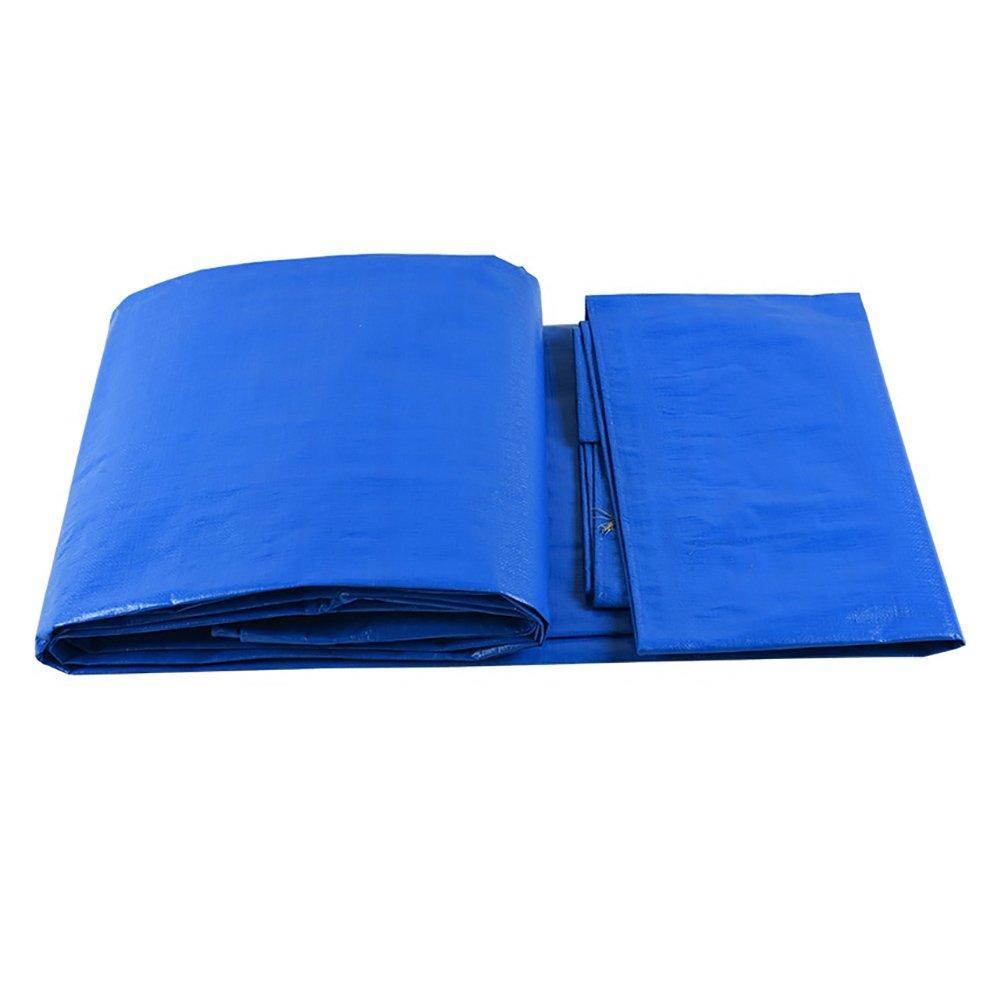 Schutz Plane Zeltplanen PET Wasserdichtes Tuch Sonnenschutz Markise Auto Regen Tuch - Multi-Größe-Optionen (größe : 5  7m)