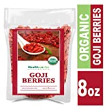 Product review for Healthworks Goji Berries Raw Organic, 8 Ounce