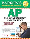 img - for Barron's AP U.S. Government and Politics with CD-ROM, 10th Edition book / textbook / text book